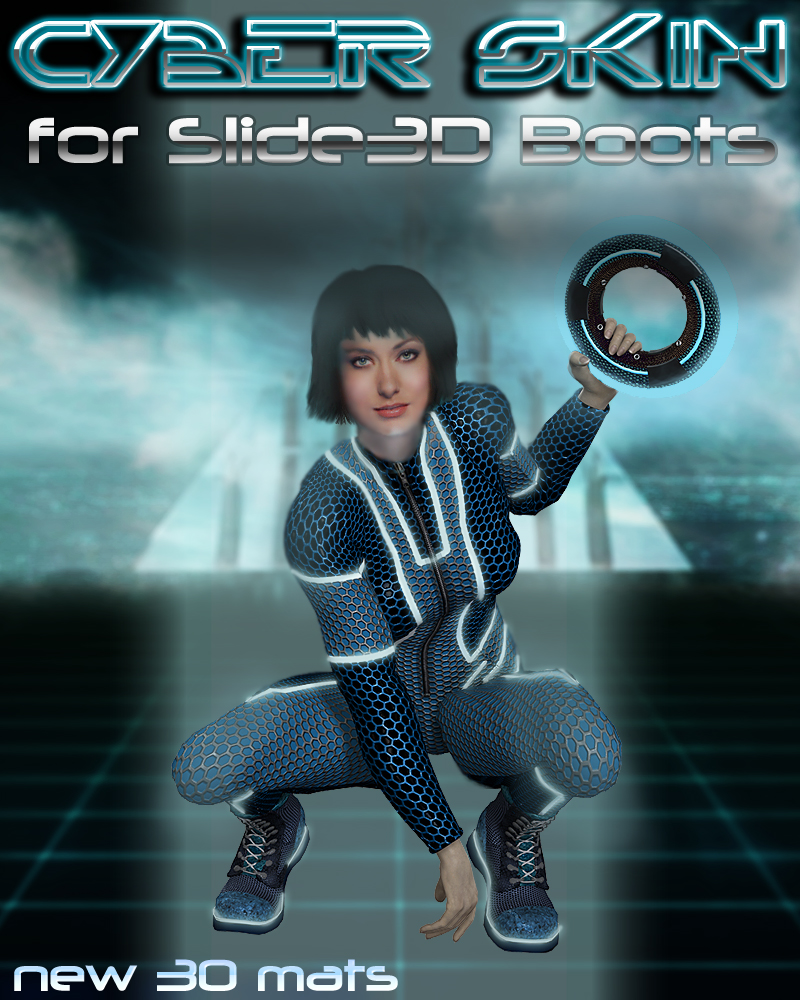 Slide3D Cyber Skin for S3D Boots