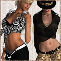 Beauty HongyuPack for Cowgirl 2 and Maiden V 3D Figure Essentials Prematos