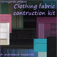 Clothing Construction Kit 2D Graphics WhimsySmiles
