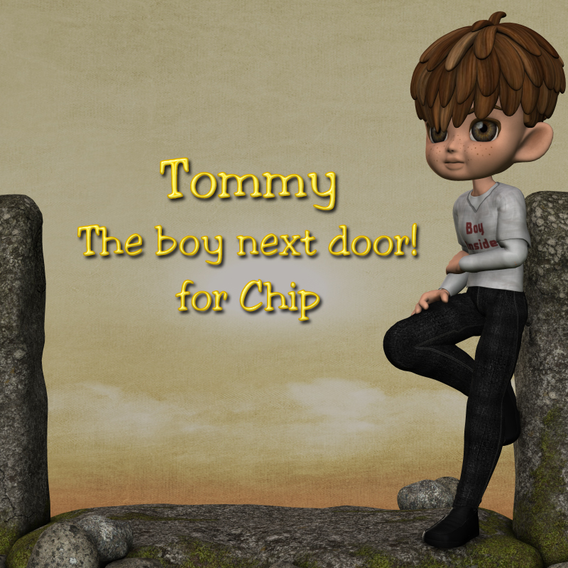 Tommy - The boy next door - for Chip