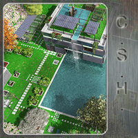 CSH Contemporary Sustainable House (vue version)  whitemagus