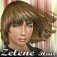 Zelene Hair 3D Figure Essentials Mairy