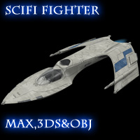 Allied Fleets Interceptor: MAX,3ds,OBJ 3D Models skynet3020
