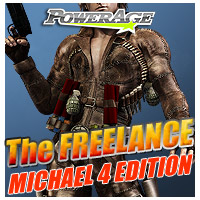 The Freelance Michael 4 Edition 3D Models 3D Figure Essentials powerage