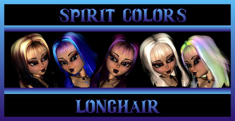 Spirit Colors-LongHair