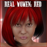 Real Women - RED for V4 and S4  KarenJ