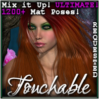 Touchable Feliciana Themed Hair -Wolfie-