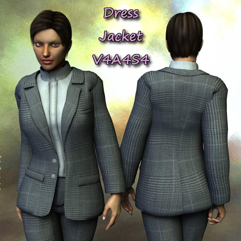 Sickle Dress Jacket V4A4S4