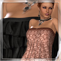 Pure Seduction for Babydoll Themed Clothing Romantic-3D
