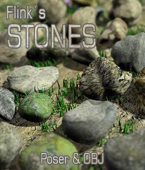 Flinks Stones 3D Models Flink
