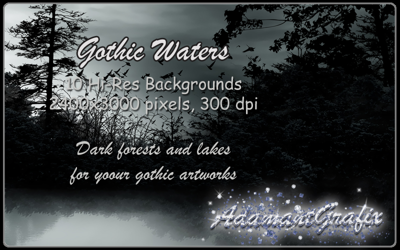 Gothic Waters Backgrounds