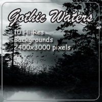 Gothic Waters Backgrounds 2D 3D Models AdamantGrafix
