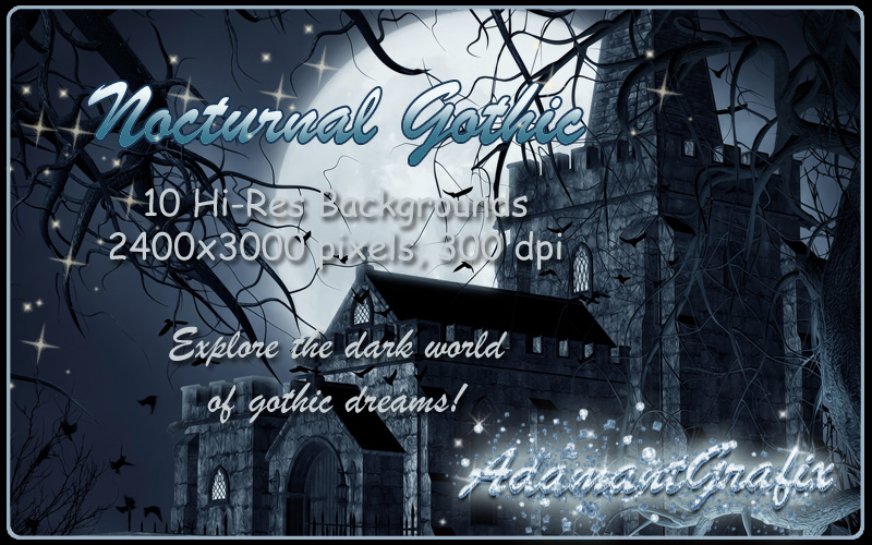 Nocturnal Gothic Backgrounds