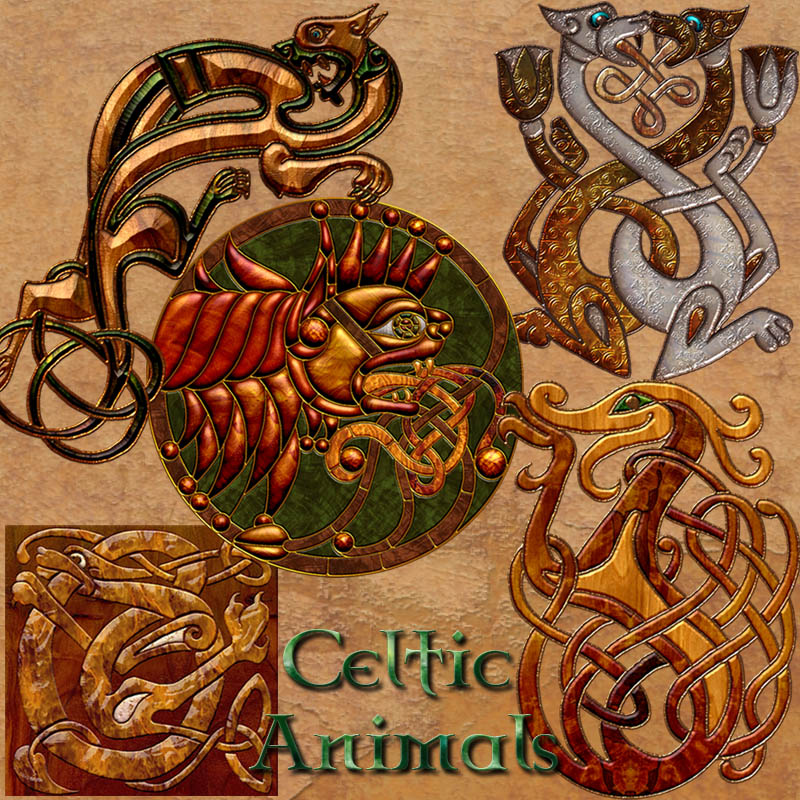 Harvest Moons Celtic Animals