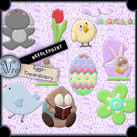 Needlepoint - Eggs-Traordinary  Valerian70