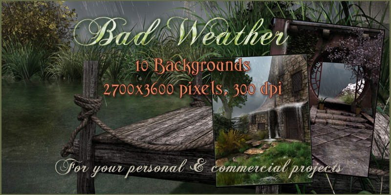 Bad Weather Backgrounds