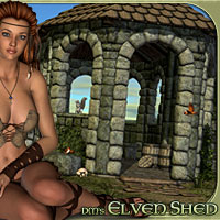 DM's Elven Shed Software Themed Poses/Expressions Props/Scenes/Architecture Danie
