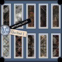 Materialistic - Quilted I  Valerian70