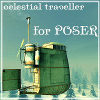 Celestial Traveller for Poser 3D Models 1971s