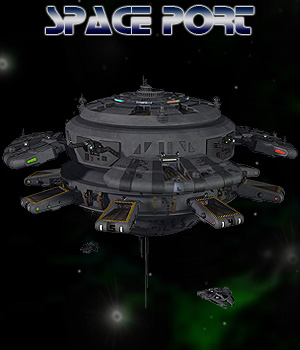 Space Port 3D Models Simon-3D