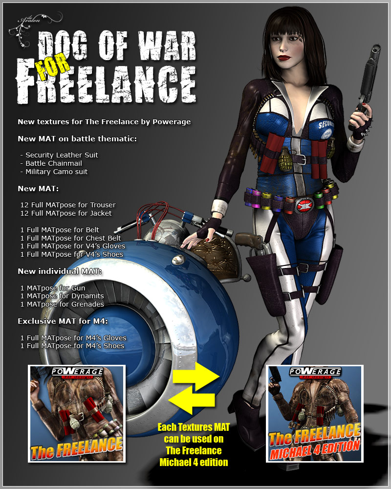 Dog of War for The Freelance by Powerage