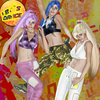 V4 starts Zumbaaa clothing and hair for v4/A4/G4/Elite 3D Figure Essentials 3D Models Mint3D