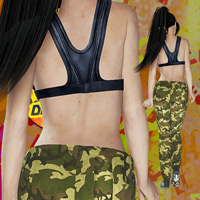 V4 starts Zumbaaa clothing and hair for v4/A4/G4/Elite image 2