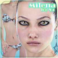 Milena for V4 3D Figure Essentials _Fenrissa_