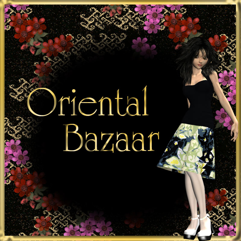 60 Seamless Oriental Style Fabric Patterns ** Merchant Resource
