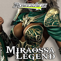 Miraossa Legend 3D Models 3D Figure Assets powerage