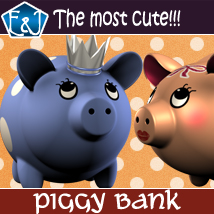 Piggy Bank 3D Models EmmaAndJordi