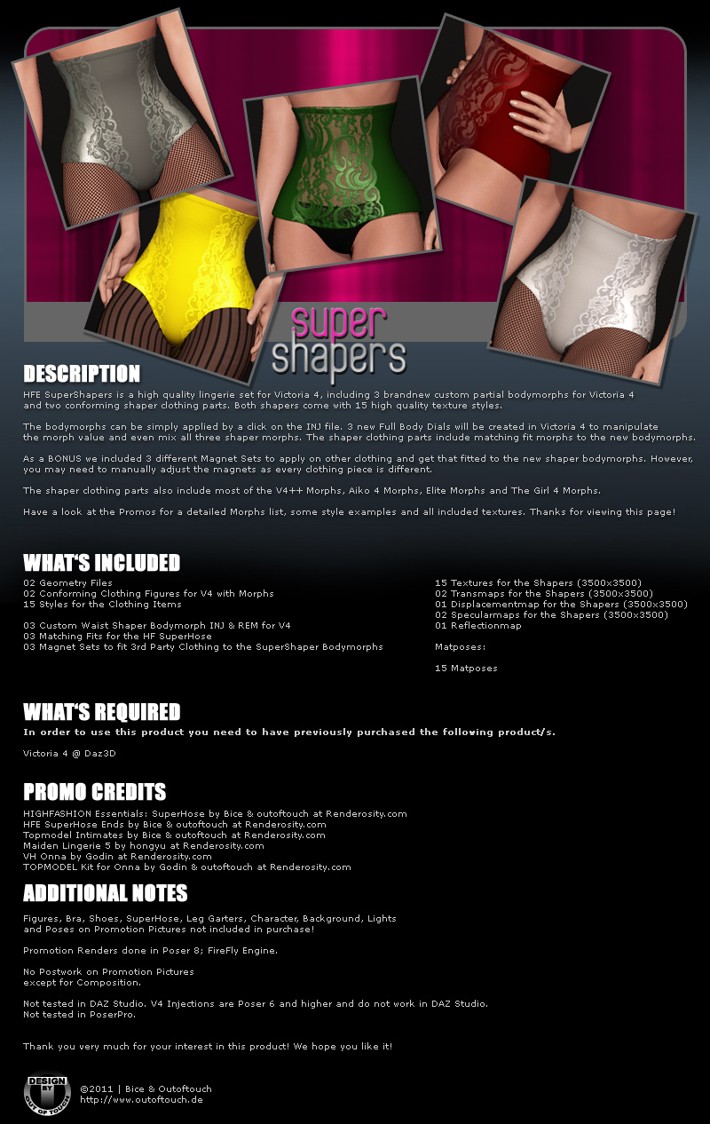 HFE SuperShapers for V4