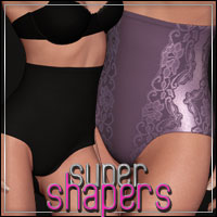 HFE SuperShapers for V4 3D Models 3D Figure Assets outoftouch