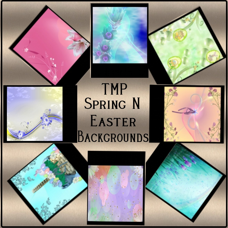 TMP Spring N Easter Backgrounds