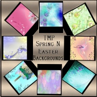 TMP Spring N Easter Backgrounds 3D Models 2D TheMadPainter