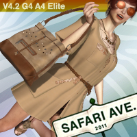 Safari Avenue for V4.2 Poses/Expressions Clothing Accessories didda