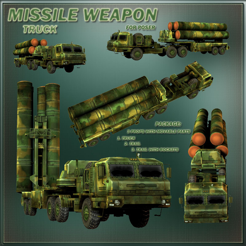 Missile weapon:  truck