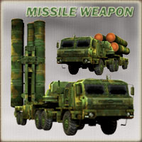 Missile weapon:  truck 3D Models darkvisionary
