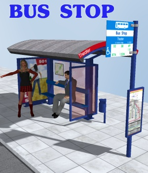 Bus Stop by greenpots