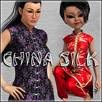 China Silk Clothing Fisty