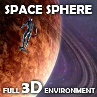Space Sphere 3D Models coflek-gnorg