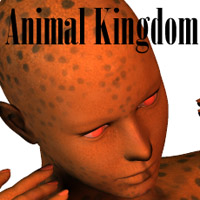 Animal Kingdom 3D Figure Assets Oskarsson