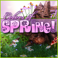 Colors of Spring! 2D Graphics Sveva