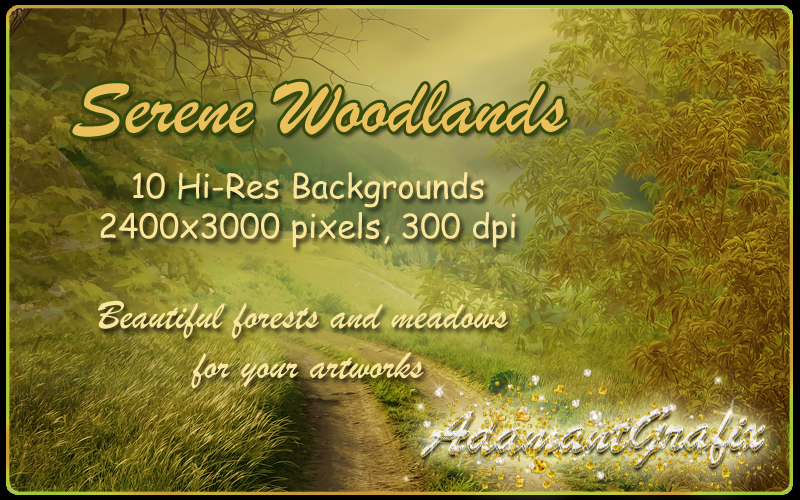 Serene Woodlands Backgrounds