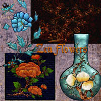 Harvest Moons Zen Flowers 3D Models 2D MOONWOLFII