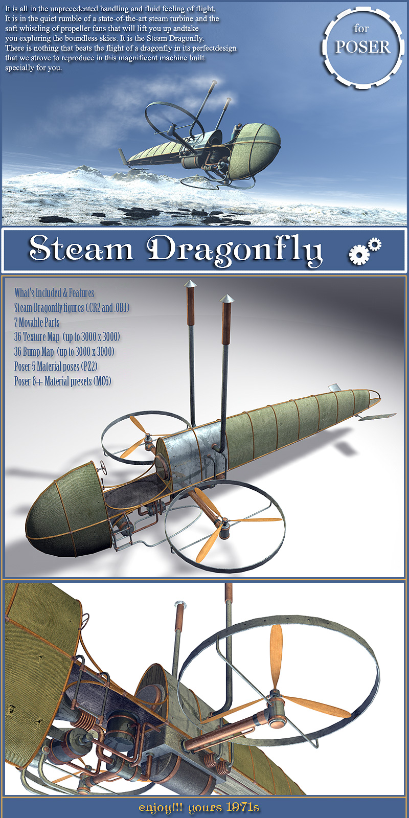 Steam Dragonfly