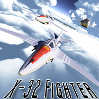 X-32 Fighter Software Themed Transportation MRX3010