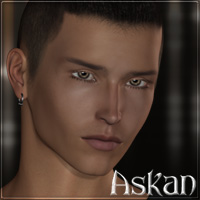 Askan for M4-H4 3D Figure Assets 3D Models Lajsis