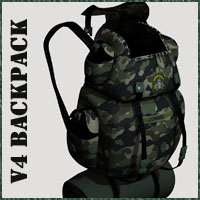 BackPack V4 Accessories Clothing Poses/Expressions 3-d-c