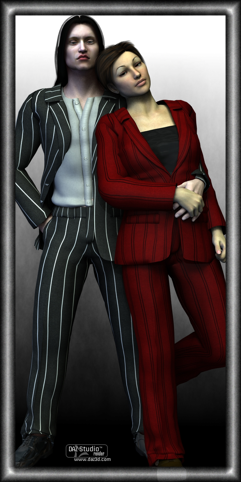 Pinstripes for Sickle Dress Pants and Jacket